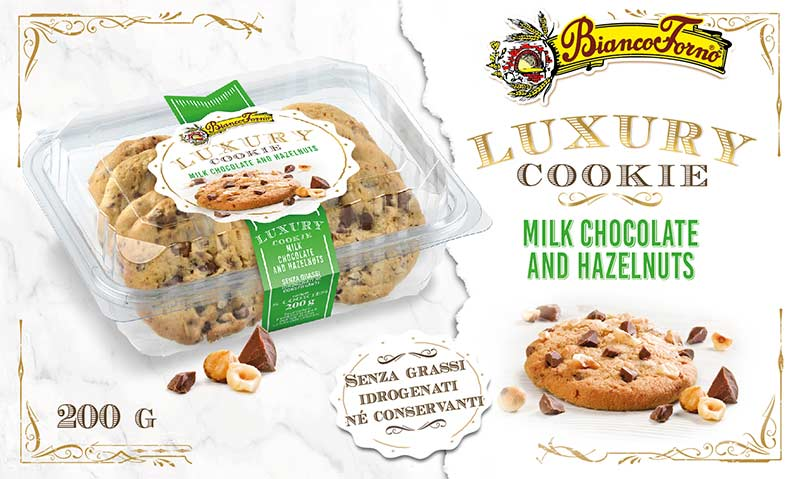 luxury cookie milk chocolate
