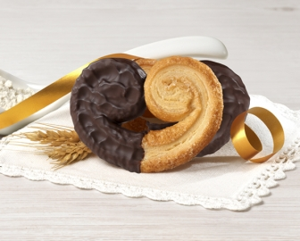 Ventaglini with chocolate